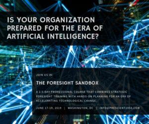 artificial intelligence, foresight sandbox