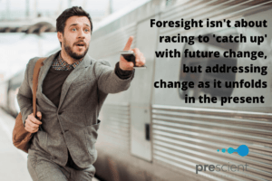 addressing the urgent and important through forsight | Prescient