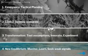 Four Seasons of Pos Pandemic Planning