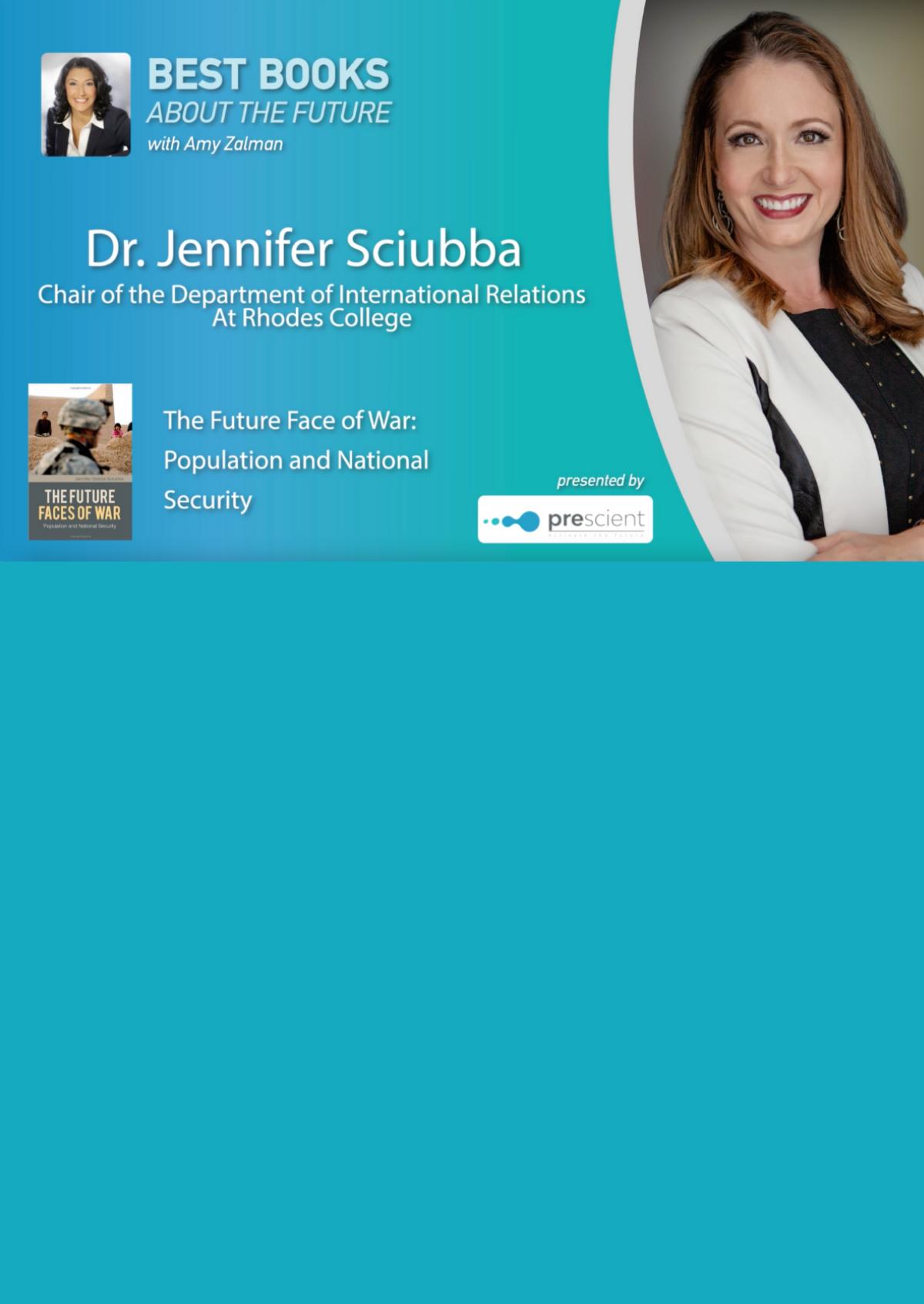 Best books about the future Jennifer Sciubba